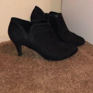 Black Booties Size 10